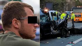 Lyžařský reprezentant tragicky zemřel na D1: Richard (†27) narazil do kamionu v koloně