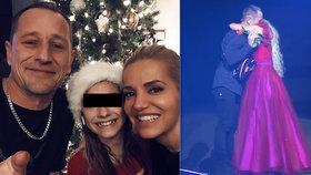 Dara Rolins tráví Vánoce s expartnerem! Jsme rodinka, hlásí zpěvačka
