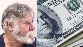 """Vykradl banku a peníze rozhazoval mezi lidi. """"Santa Clause"""" zatkla policie"""