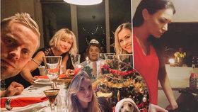 Kde byl Prachař na Štědrý večer? U manželky, nebo přítelkyně? Fotky mluví za vše