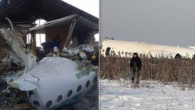 Pád letadla nepřežilo 12 lidí. Problémy byly už při startu, smrt číhala v prvních řadách