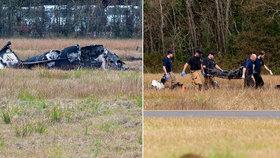 V USA se při nouzovém přistání zřítilo malé letadlo, pět lidí zemřelo