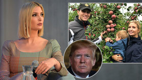 Ivanka Trumpová na Vánoce opustila otce. Zmínila konec v Bílém domě a mrazení v zádech