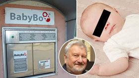Psychiatr Cimický promluvil o Vojtíškovi (9 měs.) z babyboxu: Rodiče můžou mít plán B!