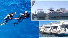 Stávka v Hurghadě odřízla turisty od výletů na moři. Rejdaři odmítají vyšší daň