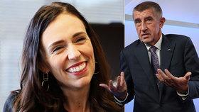 """U Babiše to nenapadlo ani """"chvilkaře"""". Premiérku na Novém Zélandu lidé otáčejí zády"""