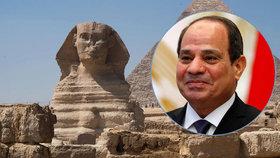 """Egypt chce přesunout ikonické sfingy na prašný """"kruháč"""". Archeologové zuří"""