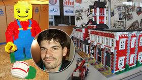 Petr má Lego za miliony a kostek půl tuny. Kvůli své vášni ale i krvácel