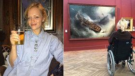 Ester Geislerová opět skončila na vozíčku: Co se jí stalo tentokrát?!
