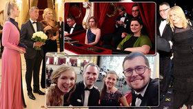 "Babišova Vivien, ""Pornomíša"" i exmoderátorka ČT. Koho vyvedli politici na gala do Opery?"