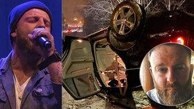 Hrozivá nehoda zpěváka Žampy z Eddie Stoilow: Sněhová vánice se mu stala osudnou!