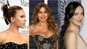 Účesy na ples pro všechny typy vlasů: Inspirujte se hollywoodskými kráskami