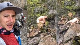 Dobrodruh Jakub Štáfek: Nahý se rozsekal u vodopádu!