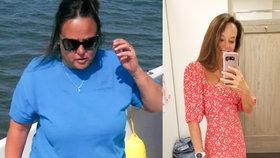 Ze 110 kilo na 54! Matka čtyř synů vypadá dnes líp než kdy předtím a trénuje na maraton