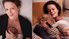 Andrea Růžičková týden po porodu přiznala šílené bolesti: Vydržím to!