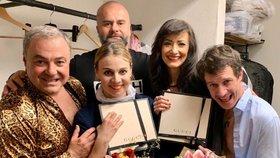Dvojité narozeniny přímo v divadle: Randová a Šinkorová dostaly luxusní dar!