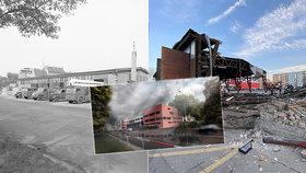 VIDEO: Z protektorátní hasičárny v Holešovicích jsou trosky: Takhle ji srovnali se zemí!