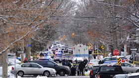 Střelba u kanadského parlamentu: Jeden mrtvý, útočník je na útěku