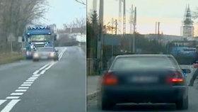 Polský řidič zběsile ujížděl policii: Muži zákona s ním pak zatočili!