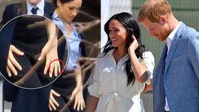 Meghan je bez prstýnku! Odstřihla se nejen od královny, ale i od Harryho?