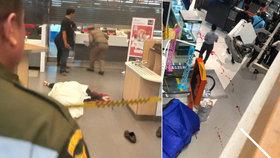 Horor vobchoďáku: Maskovaný střelec zabil holčičku (†2), v nemocnici i turista
