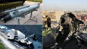 """V Íránu budou """"padat hlavy"""". Prezident slíbil potrestat viníky sestřelení boeingu"""