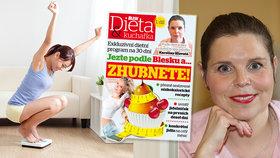 Exkluzivní dietní program pro čtenáře Blesku startuje! Hubnutí není o hladu, vzkazuje jeho autorka