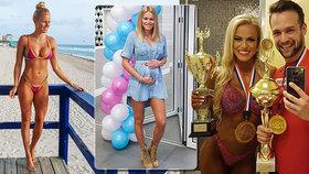Muž roku bude otcem: S trenérkou celebrit originálně odhalili pohlaví miminka!