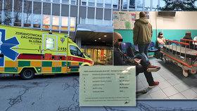 VIDEO: Akutní stav? Až čtyři hodiny čekání. Pohotovost ve vinohradské nemocnici zaskočila pacienty