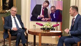 Soukup přišel o Zemana, prezident na Barrandově už nebude. Ovčáček řekl důvod