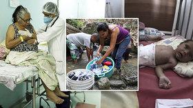 Řádí tam spalničky i záškrt: Může zdravotnictví v Česku zkolabovat jako ve Venezuele?