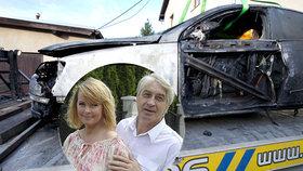 Vdovec po Ivetě Bartošové (†48) Josef Rychtář: Podpálili mu auto! Přímo před domem