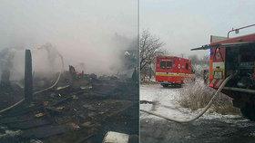 Tři mrtvé děti (†1, †3 a †4) po požáru chaty: Mstil se žhář za nevěru?!