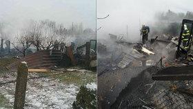 Muž zapálil chatu s dětmi?! Kristýnka, Kristiánek a Viktorka (†1–†4) zahynuli v plamenech