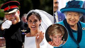 Královna Alžběta II. má strach: Bojí se, aby Harry neskončil jako Diana (†36)!
