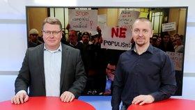 Čižinský z radnice vyštval schopné lidi, řekl starosta Prahy 1 Hejma. Chce zrušit opatření v Husově