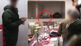 VIDEO: Ve dne maso, v noci drogy! V pražském řeznictví našli policisté varnu pervitinu