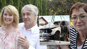 Vdovec po Ivetě Bartošové (†48) Rychtář: Vím, kdo mi zapálil auto!