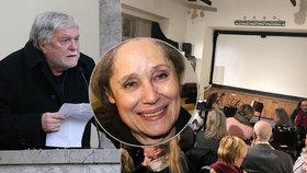 Jan Kačer týden po pohřbu Fischerové (†72): Tajná rozlučka s Táňou!