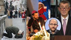 """""""Chudina se baví u PC."""" Dva z pěti Čechů stíhá chudoba. V čem se pletou Babiš a Zeman?"""