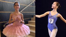 Talentovaná baletka (†14) podlehla děsivé nemoci: Valentina ale rozdává radost i po smrti