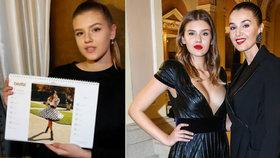 Krásná dcera (15) Ivy Kubelkové opět boduje: Stala se hvězdou kalendáře!