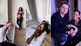 Odhalená Aneta Vignerová s Kolečkem: Poslední fotky před porodem!