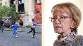 Delikventi, co se nehodí na školu: Válková psala o kriminalitě Romů v 80. letech