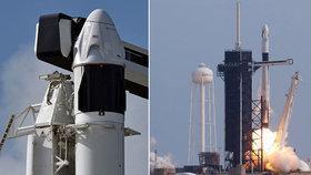 Kosmická loď od SpaceX může létat s kosmonauty. Úspěšně otestovala záchranný systém