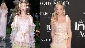 Modelky vs. celebrity. Komu víc sluší šaty z přehlídkových mol?