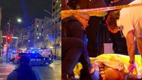 Krvavá střelba v rodinné restauraci: Útok v Seattlu nepřežila žena, hoch bojuje o život