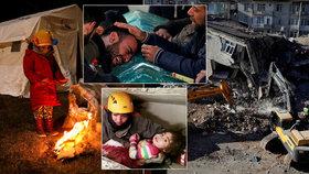 Zázrak pod sutinami: 30 hodin po zemětřesení vyprostili holčičku (2), pak i její mámu