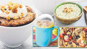 Nastartujte den sladce: Pochoutky pro zimní rána z hrníčku!