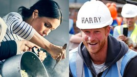 Jak se uživí Harry s Meghan? On si bude hrát na Santa Clause, ona se udře v kuchyni!